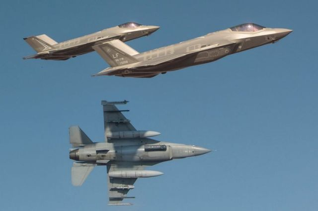 C4ISR RAAF F-35 F-16 Australian Defence Forces Northrop Grumman