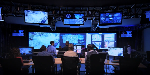 Cyber control room global Northrop Grumman