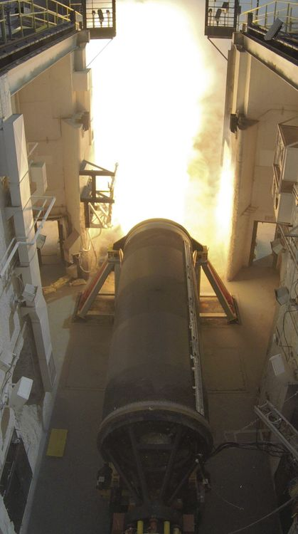 Rocket Motor Igniting