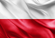 The flag of Poland