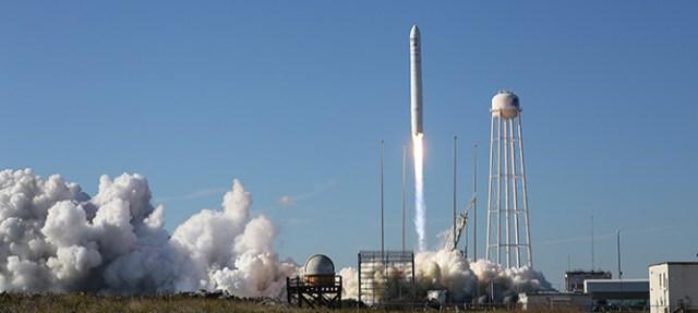 Antares rocket launch NASA
