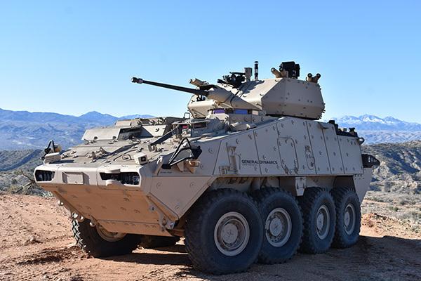 Bushmaster Cannon on Tank