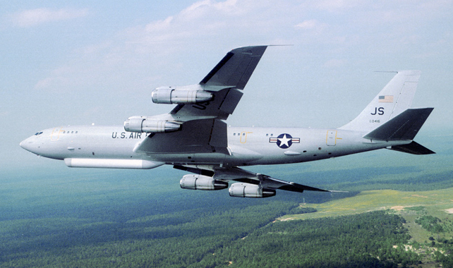 E-8C Joint STARS (Surveillance, Target and Attack Radar System)