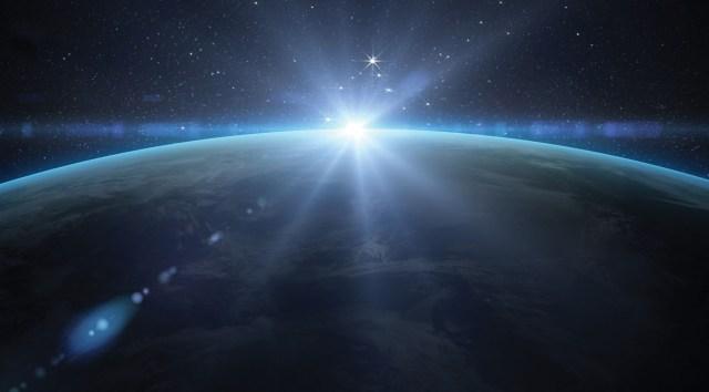 Earth Sunrise on Global Security Space - Northrop Grumman