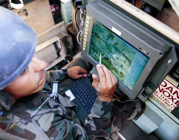 Force XXI Battle Command, Brigade and Below Blue Force Tracking