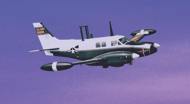 Guardrail Signals Intelligence (SIGINT) Aircraft