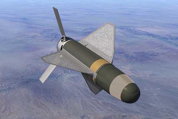 Precision strike device in air (artist rendering)