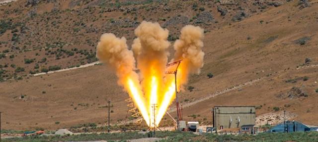 Orion Spacecraft Launch Abort Motor