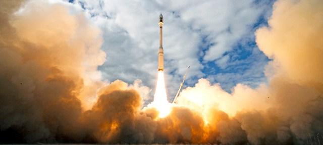 Minotaur-C rocket launch from Vandenberg Air Force Base