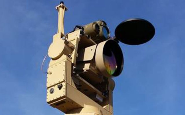 Venom is a remote-controlled laser designator rangefinder telescoping mast system with an automatic tracking device.