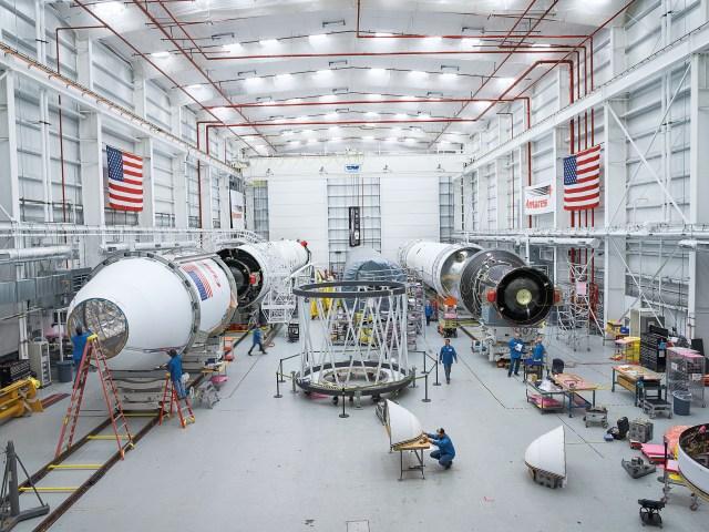 Antares Rocket at Wallops Island Site - Northrop Grumman