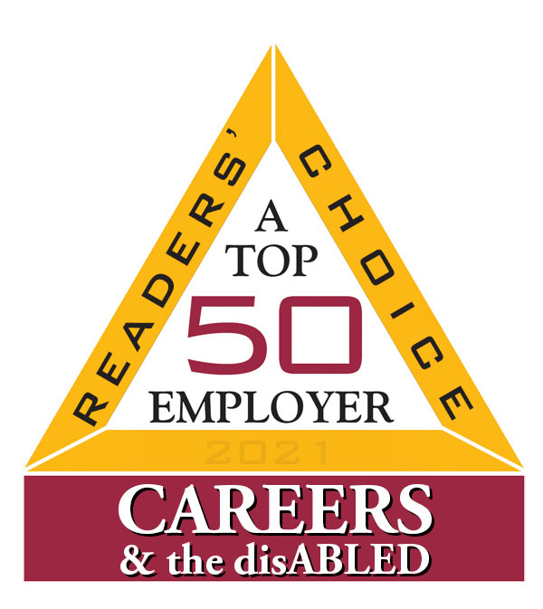 2021 Top 50 Employer Careers & the disABLED