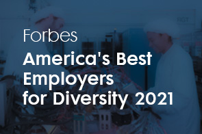 Forbes America's Best Employers for Diversity 2021