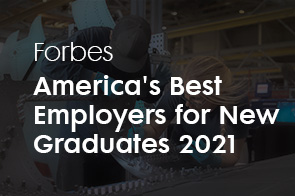 Forbes America's Best Employers for New Graduates 2021