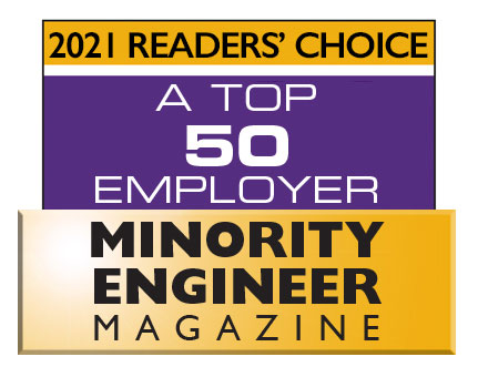 2021 Top 50 Employer Minority Engineer Magazine