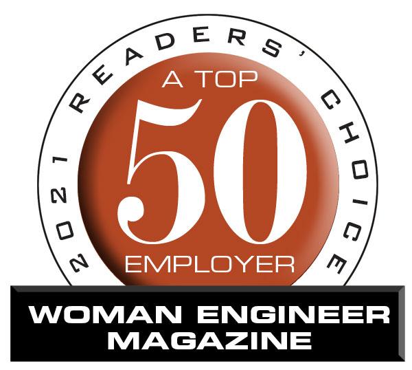 2021 Top 50 Employer Woman Engineer Magazine