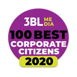 3BL Media 100 Best Corporate Citizens – 2020