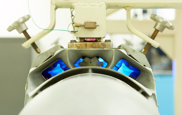 close-up of electronic attack pod