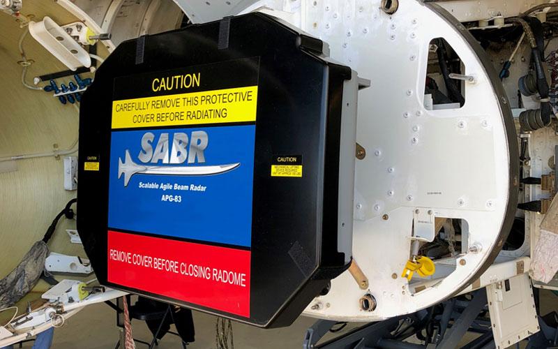 Northrop Grumman AN/APG-83 SABR Radar Achieves Initial Installation Milestone for Air National Guard F-16s
