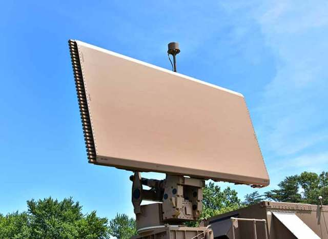 long-range radar mounted on vehicle