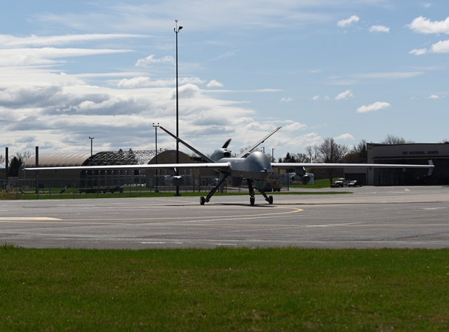 autonomous aircraft on runway