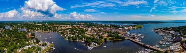 Annapolis,MD Skyline Aerial