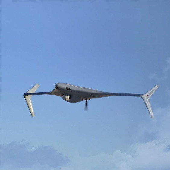 small unmanned aircraft in the air