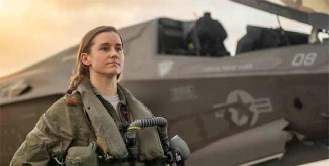 female miliary pilot