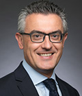 Headshot of Nick Chaffey, chief executive of Northrop Grumman in the U.K. and Europe