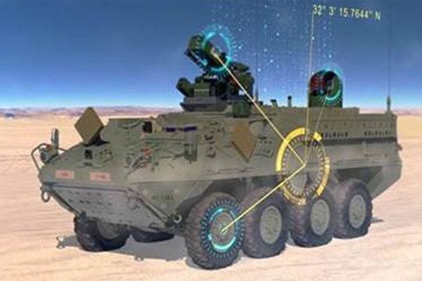 eight-wheeled tank