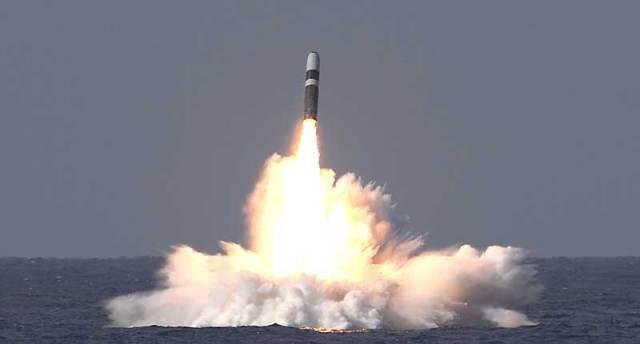 Trident II Rocket Northrop Grumman