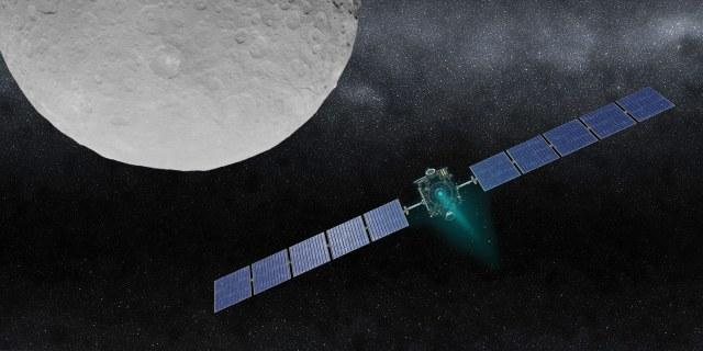 space craft racing toward the moon