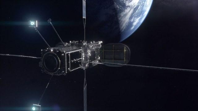 satellite recharging in space
