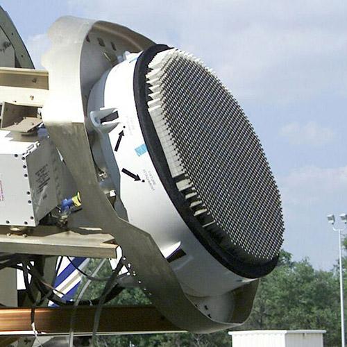 Side view of the AN/APG-81 AESA Radar