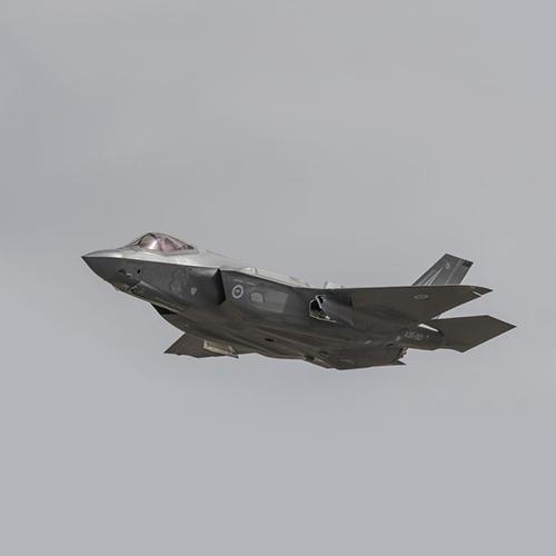 F-35 Fighter Jet in flight