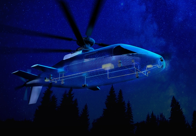 illustration of concept for Future Vertical Lift