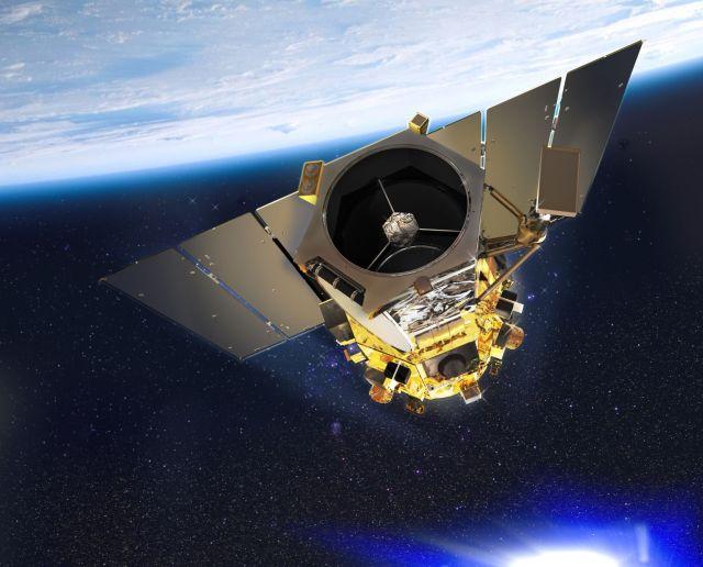 GeoEye1 in Orbit