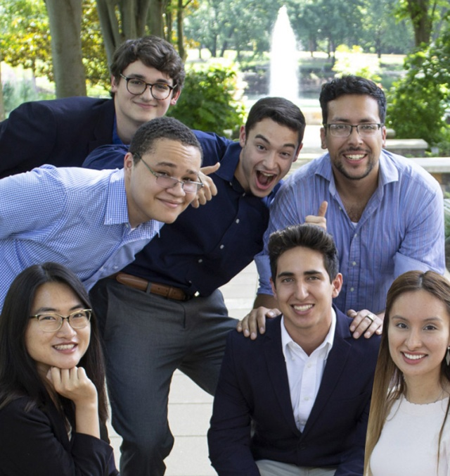 Group of Interns