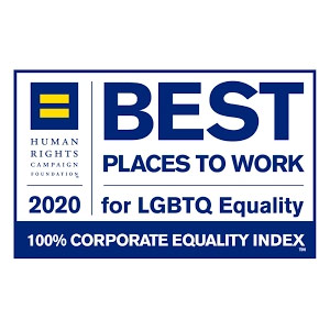 Human Rights Campaign Best Places to Work for LGBT Equality – 2020