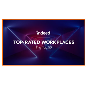 Indeed's Top-Rated Workplaces – The Top 50 – 2019