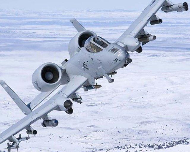 LITENING advanced targeting pod on A-10