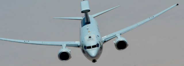 Multi-Role Electronically Scanned Array (MESA) Surveillance Radar on Boeing 737 Airborne Early Warning and Control (AEW&C) system