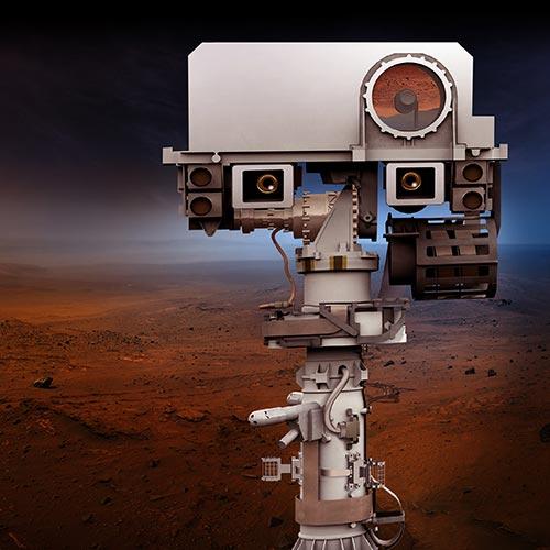 Camera on Mars Rover