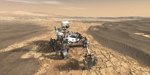 NASA's Mars 2020 Perseverance Rover on Mars