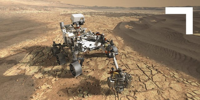 NASA's Mars 2020 Perseverance Rover on Mars