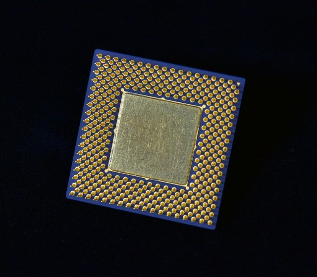 Closeup of the back of a neuromorphic camera