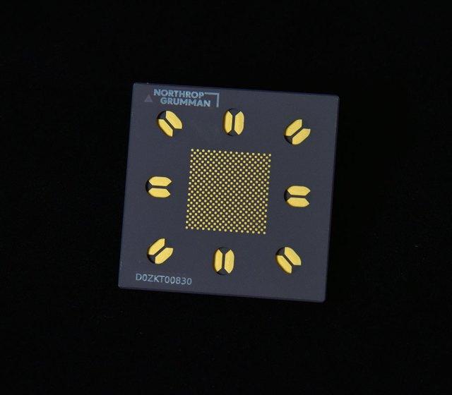 Closeup of a neuromorphic camera