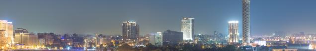 Skyline of cityscape