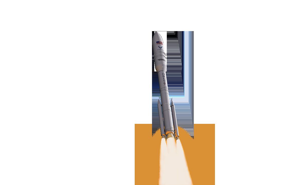 OmegA rocket rendering