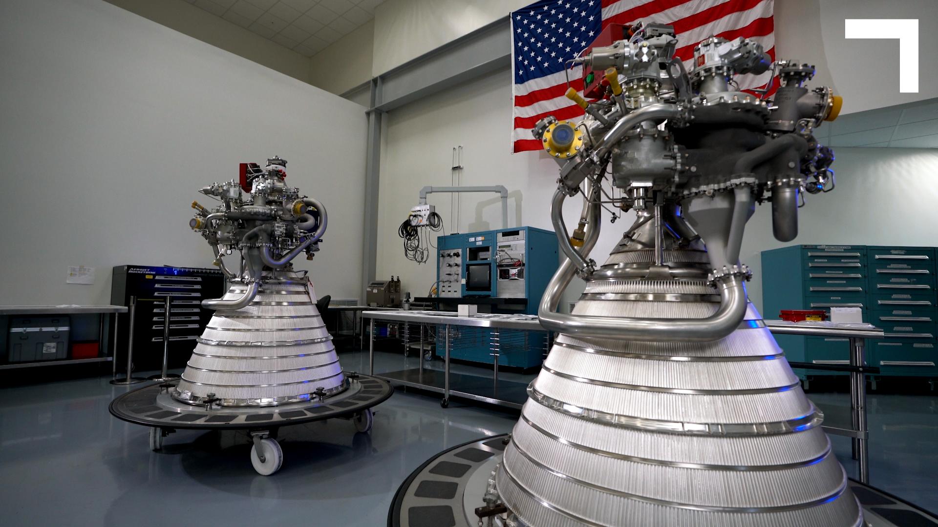 The OmegA RL10 engines.